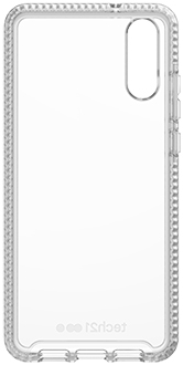 Clear tech21 Evo Check Huawei P20 Case Front