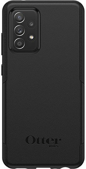 Black OtterBox Galaxy A52 Commuter Lite Case Back