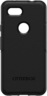 Black OtterBox Pixel 3a Symmetry Case Back