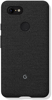 Carbon Google Fabric Pixel 3 XL Case Back