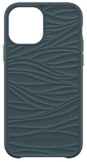 Blue LifeProof WĀKE iPhone 12 and 12 Pro Case from the Back