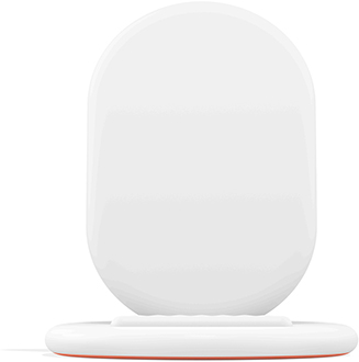 White Google Pixel Stand Front