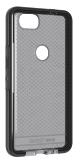 Smokey/Black Tech 21 Evo Check - Pixel 2 Case Angled View