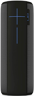 Charcoal Black Ultimate Ears MEGABOOM Speaker Standing Front View