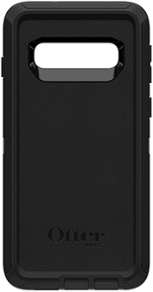 Black OtterBox Galaxy S10 Defender Case Back