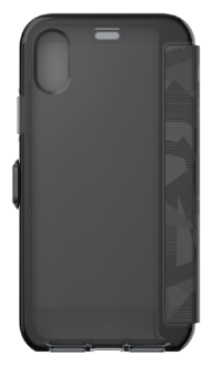 Black Tech 21 Evo Wallet - iPhone X Case Back View