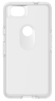 Clear OtterBox Pixel 2 Symmetry Case Back View