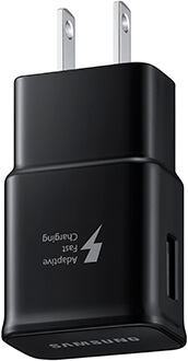 Samsung Fast Charge Wall Adapter Angled View