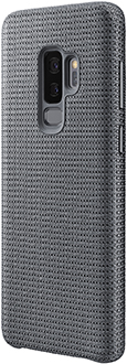 Angled Grey Samsung Hyperknit Galaxy S9+ Cover