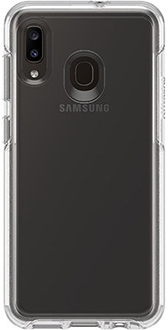 Clear OtterBox Galaxy A20 Symmetry Case Back