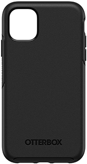 Black OtterBox iPhone 11 Symmetry Case Back