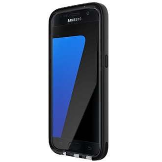 Black Tech 21 Evo Elite - Samsung Galaxy S7 Case Front View
