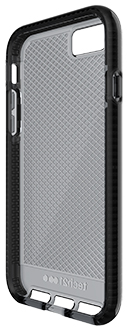 Smokey/Black Tech 21 Evo Check - iPhone 7/8 Case Angled View