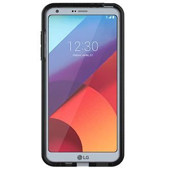 Smokey/Black Tech 21 Evo Check - LG G6 Case Front View