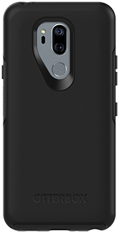 Black OtterBox LG G7 Symmetry Case Back