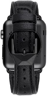Black Case-Mate 38mm Apple Watch Band Back View