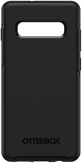 Black OtterBox Galaxy S10+ Symmetry Case Back