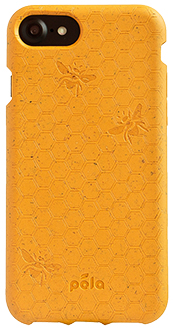 Honey Bee Pela iPhone 6/6s/7/8 Case Back