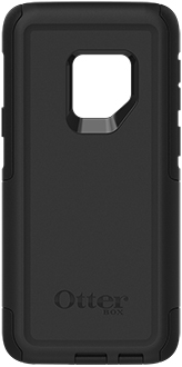 Black OtterBox Galaxy S9 Commuter Case Back View