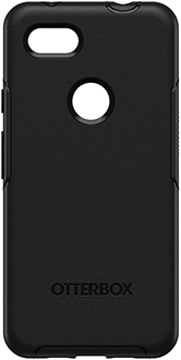Black OtterBox Pixel 3a XL Symmetry Case Back
