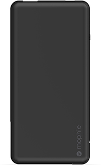 Black Mophie Powerstation Plus USB-C 6000mAh Front