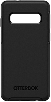 Black OtterBox Galaxy S10 Symmetry Case Back