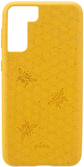 Yellow Bee Pela Galaxy S21 5G Case from the Back