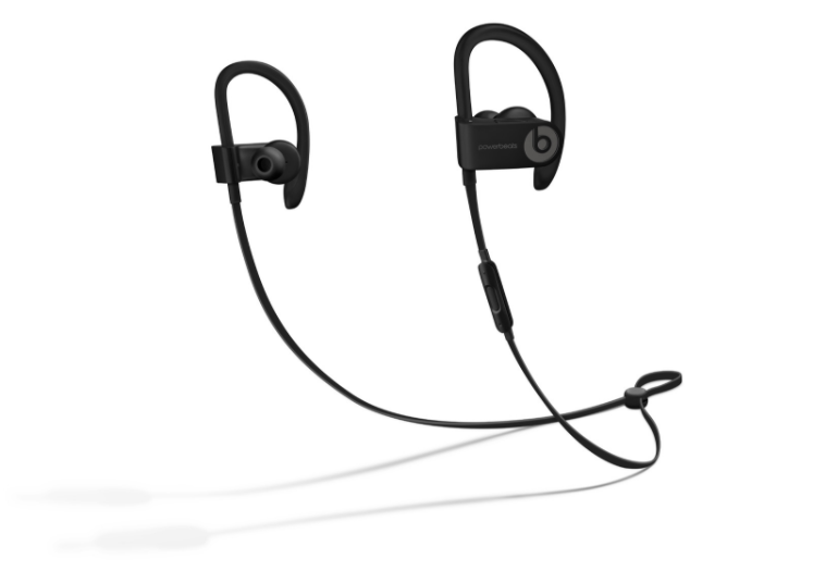 Black Powerbeats3 Full Product View