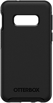 Black OtterBox Galaxy S10e Symmetry Case Back