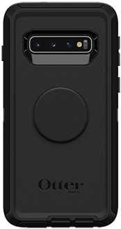 Black Otter + Pop Defender Galaxy S10 Case Back