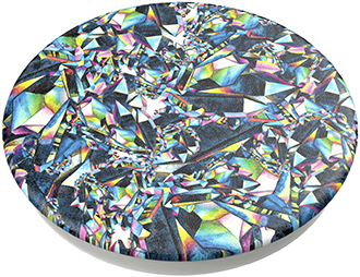 Angled PopSockets Facet Gloss PopTop Top View