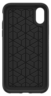 Black OtterBox iPhone X/Xs Symmetry Case Front