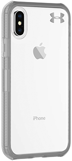 Clear Under Armour Protect Verge - iPhone X Case Angled View