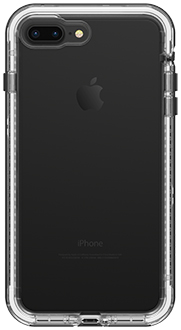 Black Crystal LifeProof iPhone 7 Plus/8 Plus NËXT Case Back View