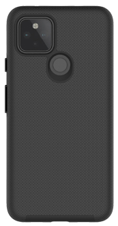 Black Axessorize PROTech Case Pixel 5 from the back