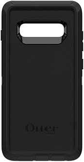 Black OtterBox Galaxy S10+ Defender Case Back
