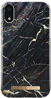 Port Laurent Marble iDeal of Sweden iPhone XR Fashion Case Back