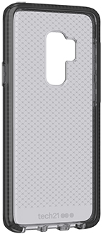 Angled Black tech21 Evo Check Galaxy S9+ Case