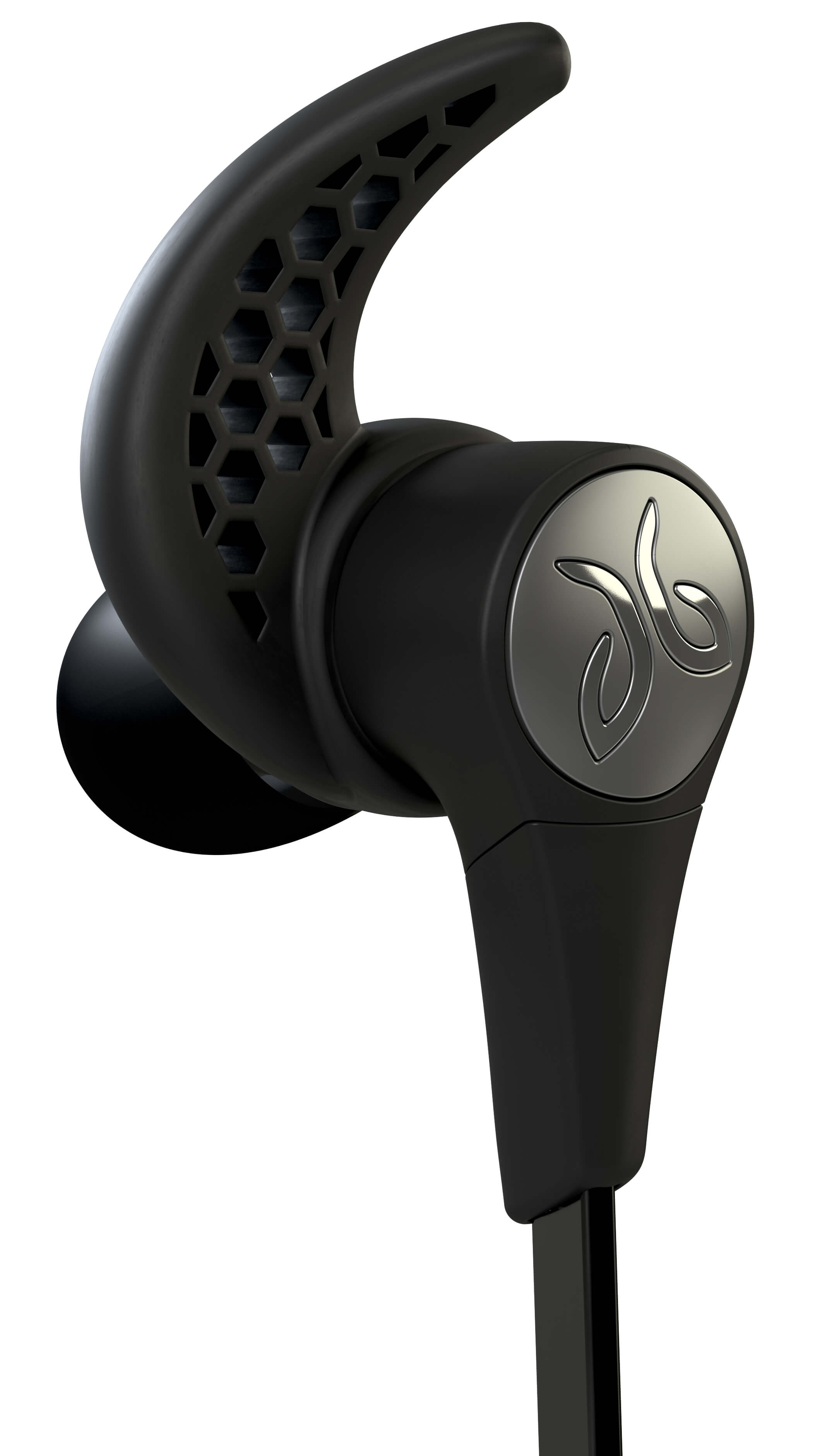 Blackout Jaybird X3 Sport Headphones Ear Piece Close-Up