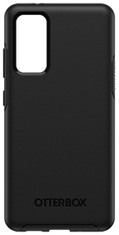 Black OtterBox Galaxy S20 FE 5G Symmetry Case from the back Back