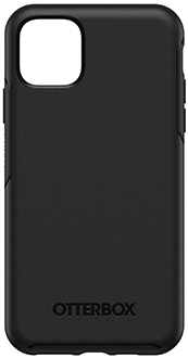 Black OtterBox iPhone 11 Pro Max Symmetry Case Back