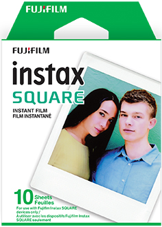 Front of Instax Sqaure Film Box