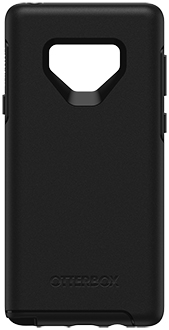 Black OtterBox Galaxy Note9 Symmetry Case Back