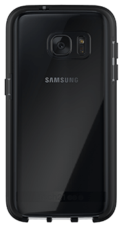 Black Tech 21 Evo Elite - Samsung Galaxy S7 Case Back View