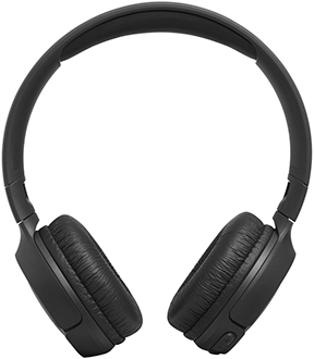 Black JBL TUNE 500BT headphones front