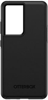 Black OtterBox Galaxy S21 Ultra 5G Symmetry Case from the Back