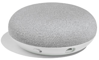 Google Home Mini Top View