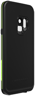 Night Lite LifeProof FRĒ Galaxy S9 Case Angled Back View