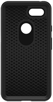 Black OtterBox Pixel 3 XL Symmetry Case Front