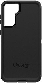 Black OtterBox Galaxy S21+ 5G Defender Case from the Back